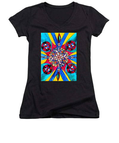 Origin Of The Soul  - Women's V-Neck