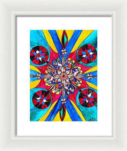 Origin Of The Soul  - Framed Print