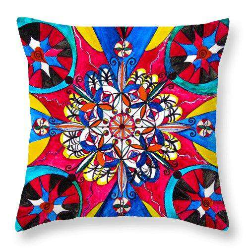 Origin Of The Soul  - Throw Pillow