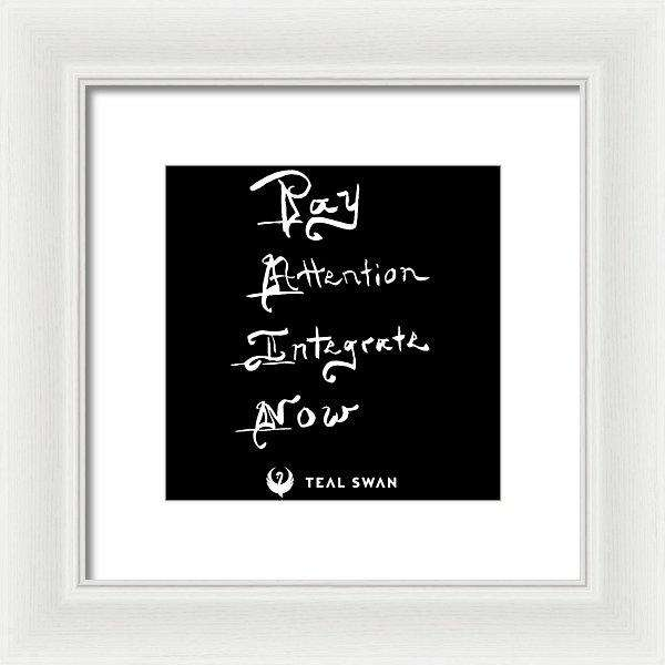 Pain Quote - Framed Print