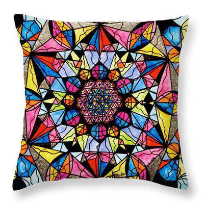 Perceive - Throw Pillow