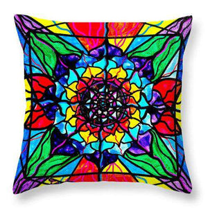 Personal Expansion - Throw Pillow