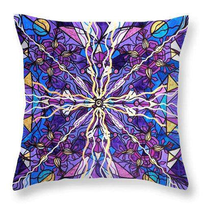 Pineal Opening - Throw Pillow