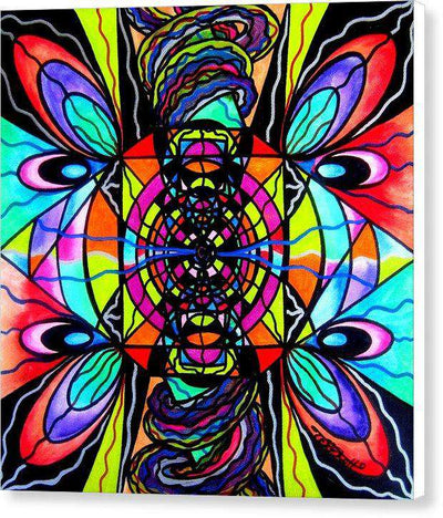 Planetary Vortex - Canvas Print