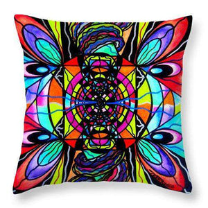 Planetary Vortex - Throw Pillow