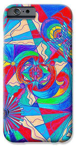 Pleiadian Restore Harmony Light Work Model - Phone Case