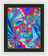 Load image into Gallery viewer, Pleiadian Restore Harmony Light Work Model - Framed Print