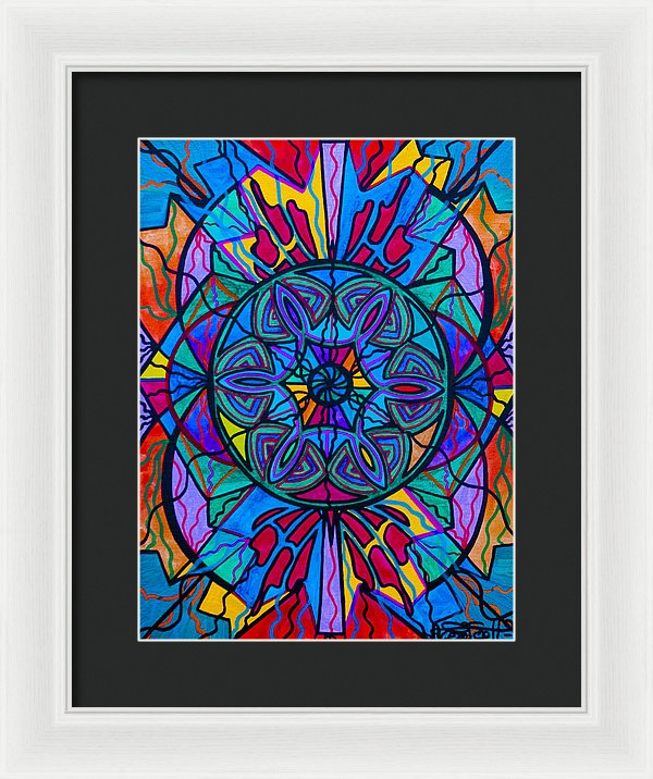 Poised Assurance - Framed Print