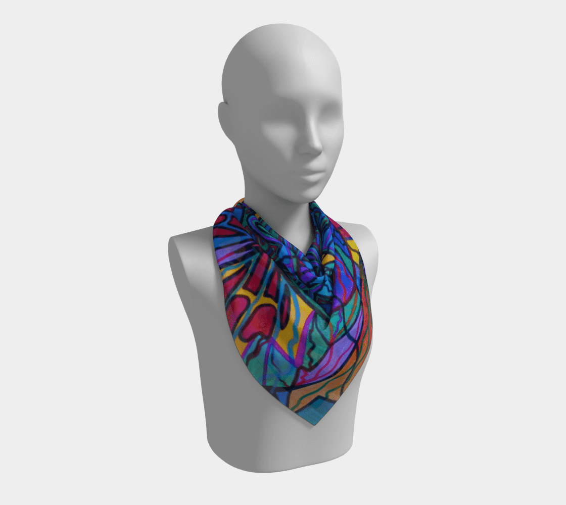 Poised Assurance - Frequency Scarf