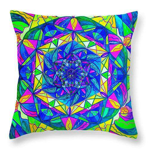 Positive Focus - Throw Pillow