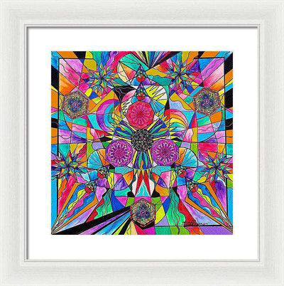 Positive Intention - Framed Print