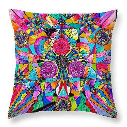 Positive Intention - Throw Pillow