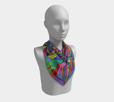 Positive Intention - Frequency Scarf