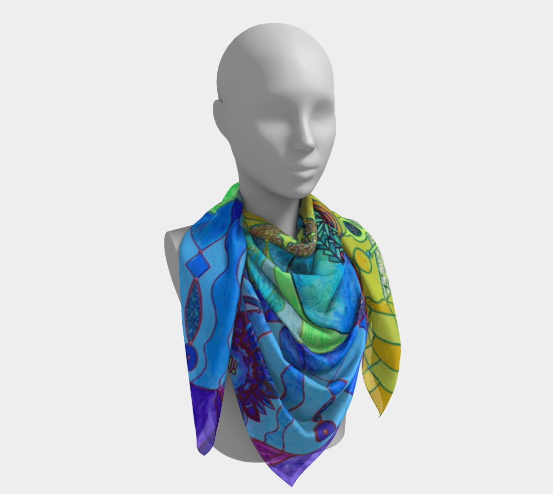 Expansion Pleiadian Lightwork Model - Frequency Scarf