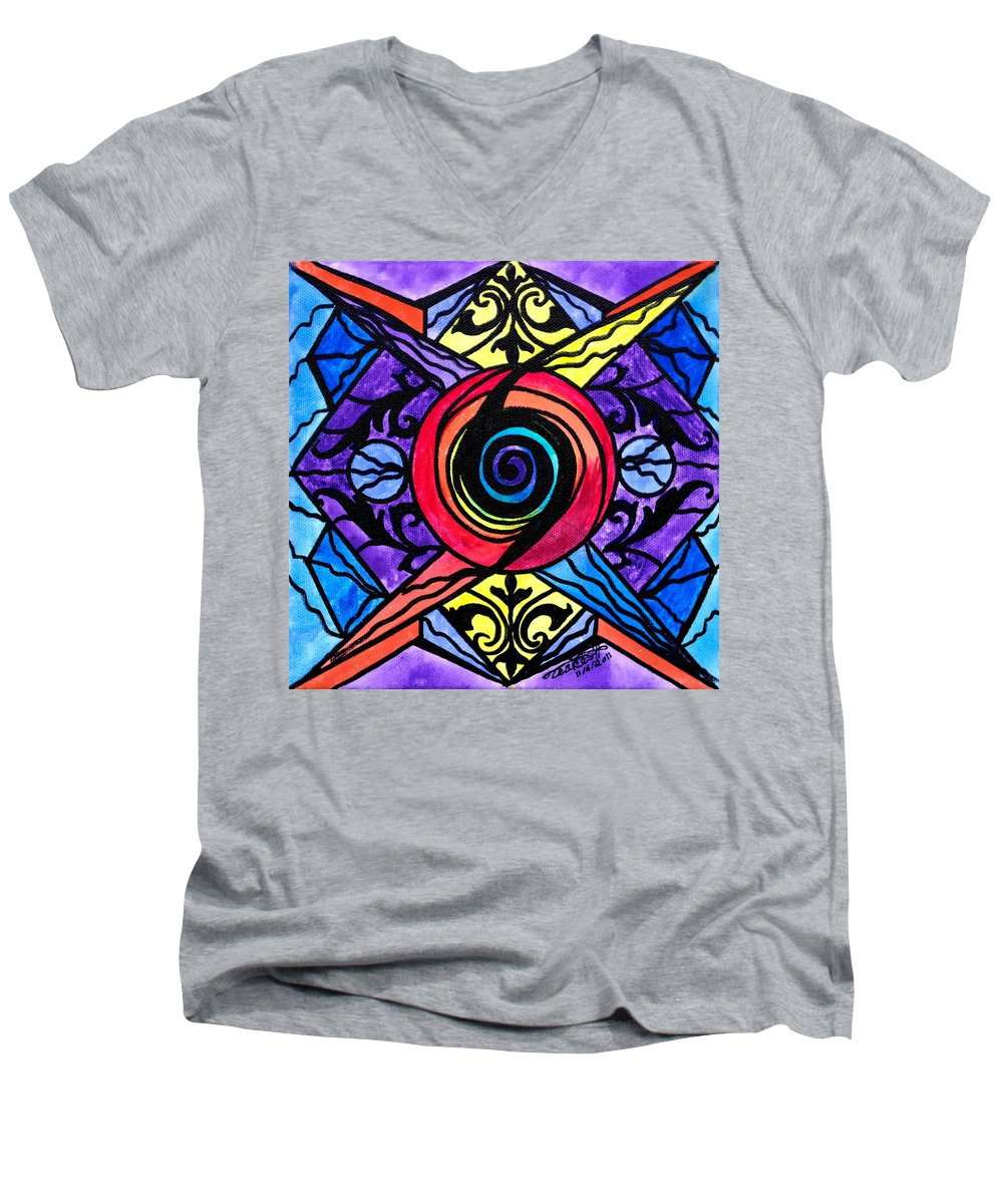 Psychic - Men's V-Neck T-Shirt