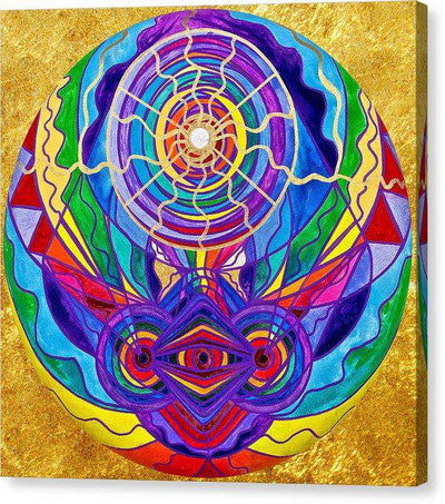 Raise Your Vibration - Canvas Print