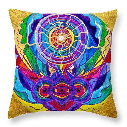 Raise Your Vibration - Throw Pillow