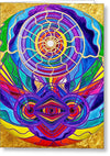 Raise Your Vibration - Greeting Card