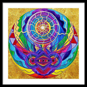 Raise Your Vibration - Framed Print