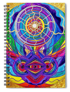 Raise Your Vibration - Spiral Notebook