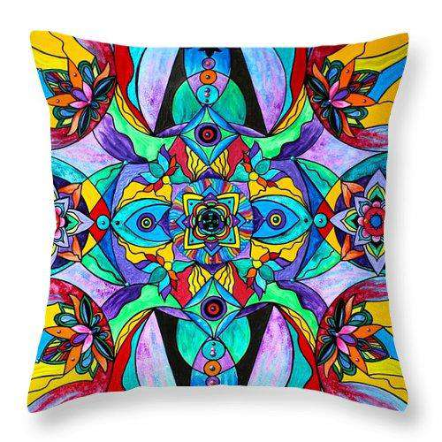 Receive - Throw Pillow