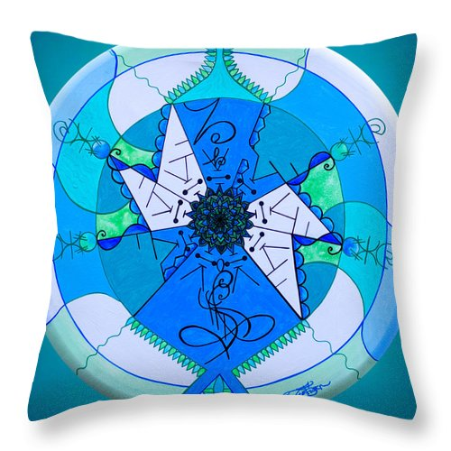 Release - Throw Pillow