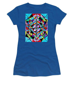 Sacred Geometry Grid - Women's T-Shirt
