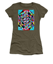 Load image into Gallery viewer, Sacred Geometry Grid - Women's T-Shirt