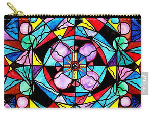 Sacred Geometry Grid - Carry-All Pouch