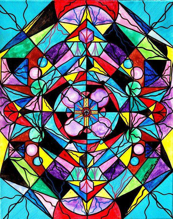 Sacred Geometry Grid - Art Print