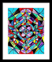 Load image into Gallery viewer, Sacred Geometry Grid - Framed Print