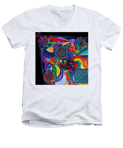 Self Exploration - Men's V-Neck T-Shirt