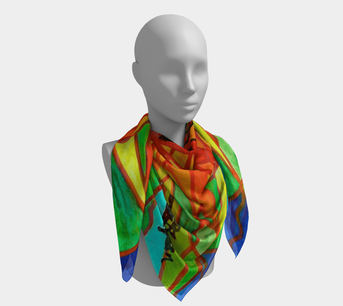 Self Liberate - Frequency Scarf