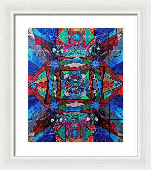 Sense Of Security  - Framed Print