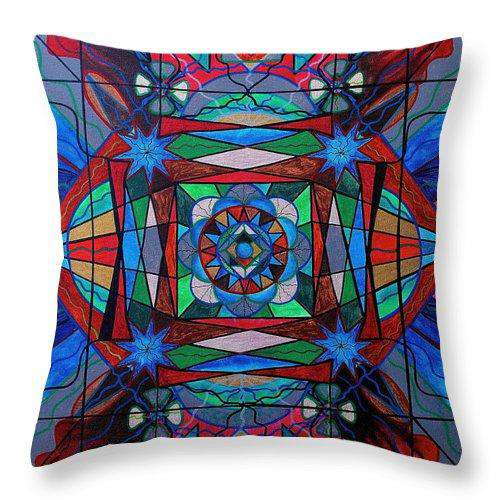 Sense Of Security  - Throw Pillow