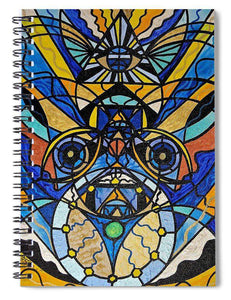 Sirian Solar Invocation Seal - Spiral Notebook