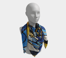 Load image into Gallery viewer, Sirian Solar Invocation Seal - Scarf