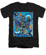 Load image into Gallery viewer, Sirius - Men's V-Neck T-Shirt