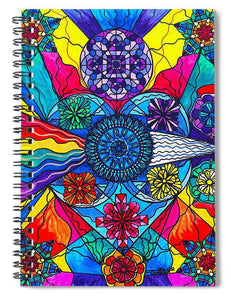 Speak From The Heart - Spiral Notebook