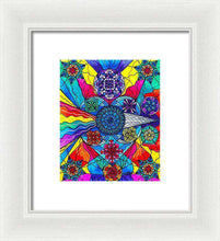 Load image into Gallery viewer, Speak From The Heart - Framed Print