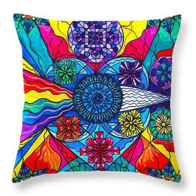 Speak From The Heart - Throw Pillow