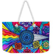 Load image into Gallery viewer, Speak From The Heart - Weekender Tote Bag