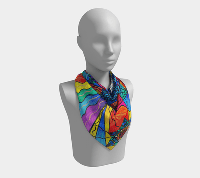 Speak From The Heart - Frequency Scarf
