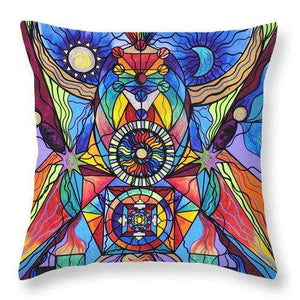 Spiritual Guide - Throw Pillow
