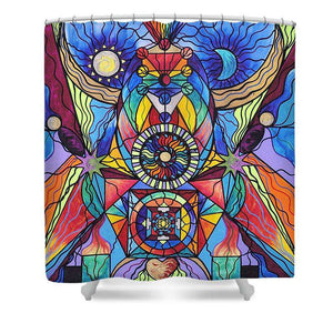 Spiritual Guide - Shower Curtain