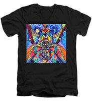 Load image into Gallery viewer, Spiritual Guide - Men's V-Neck T-Shirt