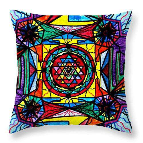 Sri Yantra - Throw Pillow