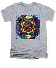 Load image into Gallery viewer, Sri Yantra - Men's V-Neck T-Shirt