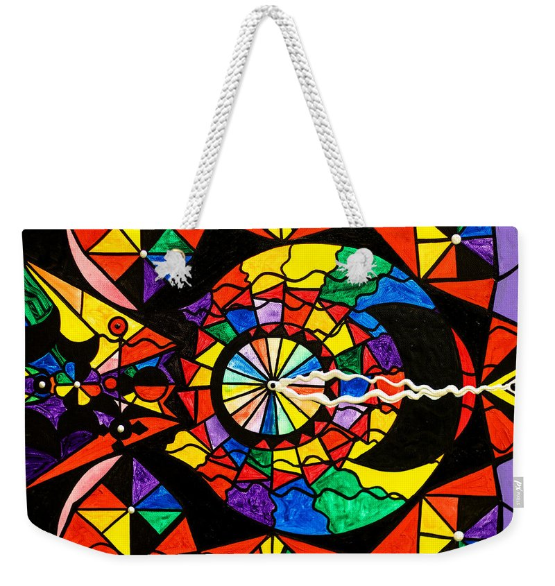 Stand For What You Believe In Frequency - Weekender Tote Bag