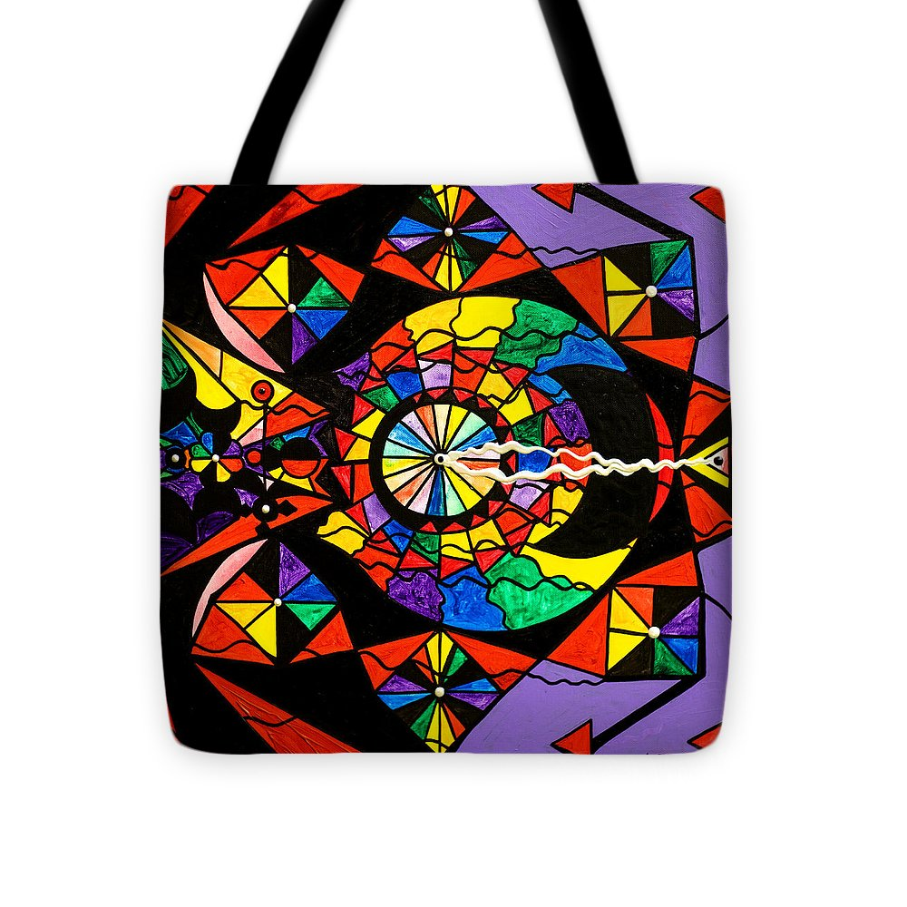 Stand For What You Believe In Frequency - Tote Bag